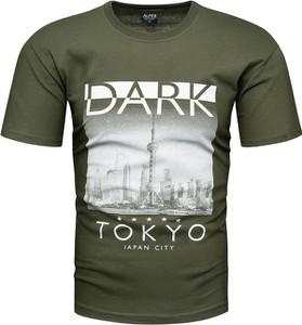 T-shirt Recea z bawełny
