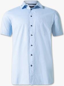 Koszula CANDA z długim rękawem z klasycznym kołnierzykiem z bawełny