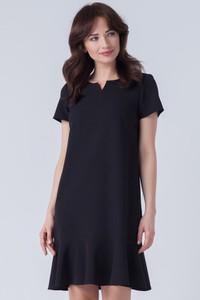 Sukienka butik-choice.pl z dekoltem w kształcie litery v