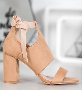 Brązowe sandały Vinceza ze skóry ekologicznej