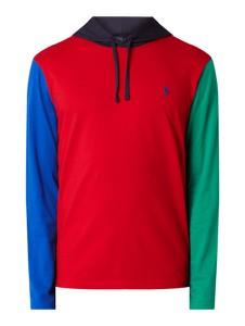 Czerwona bluza POLO RALPH LAUREN z bawełny