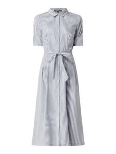 Sukienka Montego z krótkim rękawem midi z bawełny