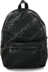 Czarna torebka Desigual na ramię lakierowana