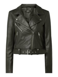 Czarna kurtka Only z bawełny krótka