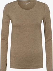 T-shirt Marie Lund z bawełny z okrągłym dekoltem