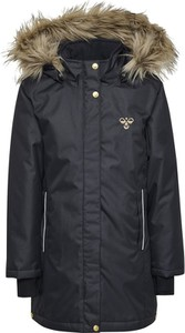 Czarny płaszcz dziecięcy Hummel
