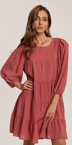 Różowa sukienka Renee mini