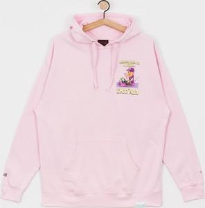 Różowa bluza Diamond Supply Co. z bawełny