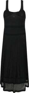 Czarna sukienka Pinko w stylu casual prosta