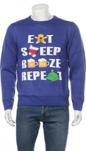 Sweter Jacamo w młodzieżowym stylu z okrągłym dekoltem