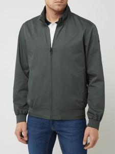 Zielona kurtka Pierre Cardin krótka w stylu casual