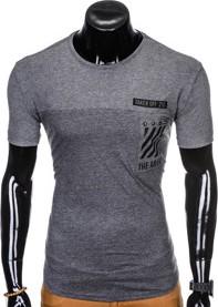 T-shirt Ombre Clothing z krótkim rękawem