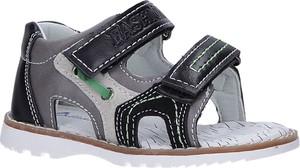 Granatowe buty dziecięce letnie Casu