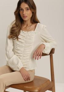Bluzka Renee z długim rękawem w stylu casual
