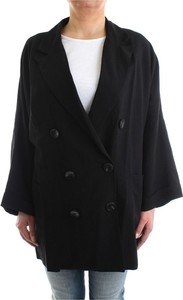 Czarny płaszcz Bsb