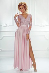 d00fb7890aa80b Różowa sukienka Emo Sukienki z dekoltem w kształcie litery v