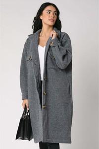 Płaszcz Scarlet Jones w stylu casual