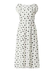 Sukienka Armani Exchange maxi z okrągłym dekoltem
