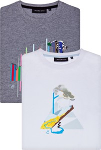 T-shirt LANCERTO z nadrukiem