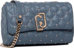 Niebieska torebka Liu-Jo na ramię mała w stylu casual