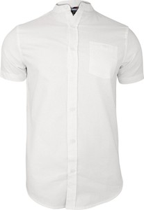 Koszula Brave Soul z tkaniny z krótkim rękawem