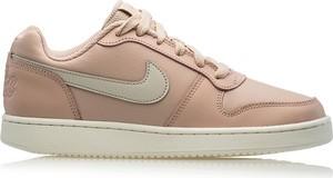 Trampki Nike niskie ze skóry z płaską podeszwą