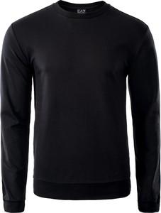 Czarna bluza EA7 Emporio Armani w stylu casual
