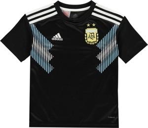 Czarna koszulka dziecięca Adidas
