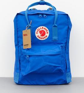 Niebieski plecak Fjällräven z tkaniny