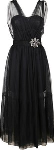 Czarna sukienka Pinko