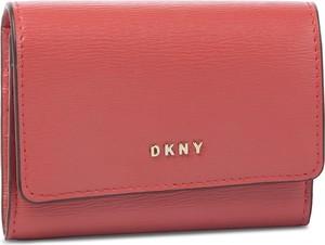 Portfel DKNY ze skóry