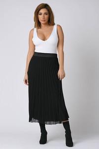 Czarna spódnica Plus Size Company
