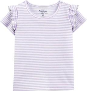 Fioletowa koszulka dziecięca OshKosh
