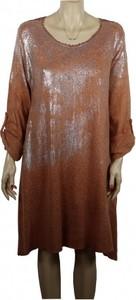 Sukienka atena-online midi z długim rękawem w stylu casual