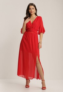 Sukienka Renee z dekoltem w kształcie litery v z krótkim rękawem