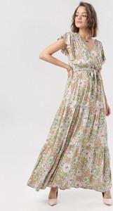 Sukienka born2be w stylu boho maxi trapezowa