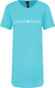 Sukienka Emporio Armani z krótkim rękawem
