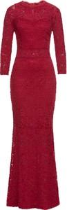 Czerwona sukienka bonprix BODYFLIRT boutique na wesele