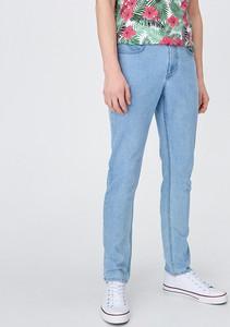 Niebieskie jeansy Sinsay