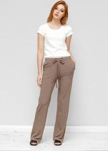 Brązowe spodnie Freeshion