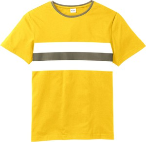 Żółty t-shirt bonprix John Baner JEANSWEAR