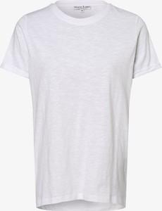 T-shirt Marie Lund z dżerseju z okrągłym dekoltem z krótkim rękawem