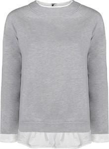 Bluza Twinset w stylu casual krótka z tkaniny