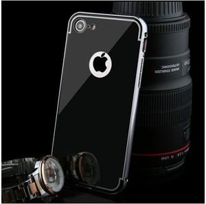 Etuistudio Mirror bumper case na iPhone 8 - Czarny.