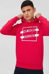 Czerwona bluza CLOCKHOUSE z bawełny