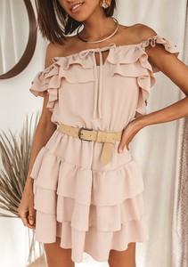 Sukienka Latika z krótkim rękawem mini