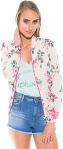 Kurtka Guess krótka w stylu casual