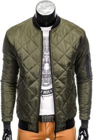 Ombre clothing kurtka c327 - khaki