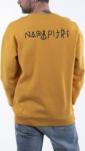 Żółta bluza Napapijri w sportowym stylu