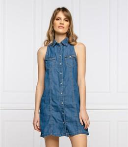 Sukienka Pepe Jeans w stylu casual mini
